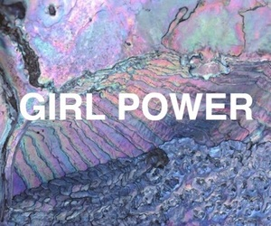 girl power, holographic, and holo image
