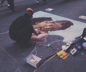 art, street, and painting image