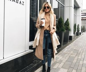 fall, hair, and fashion image