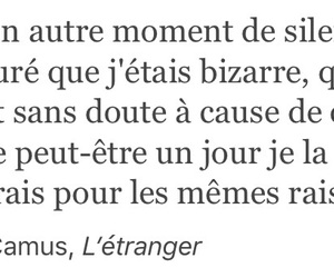 albert camus, book, and french image