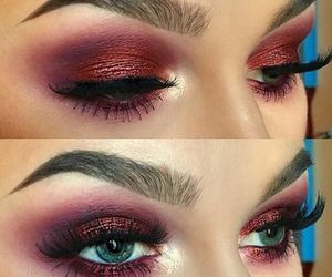 makeup, eyeshadow, and make up image
