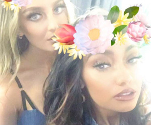 little mix, perrie edwards, and snapchat image