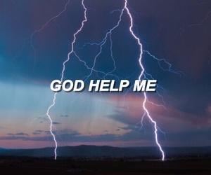 faith, god, and help image