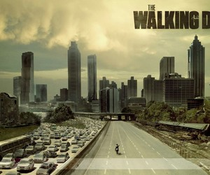 the walking dead, dead, and zombies image