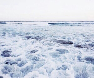 blue, ocean, and theme image