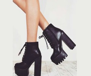 booties, fashion, and grunge image