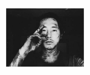 glenn, twd, and the walking dead image
