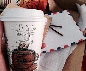 coffe, حُبْ, and صباح image