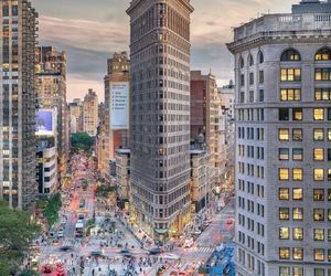 building, city life, and new york image