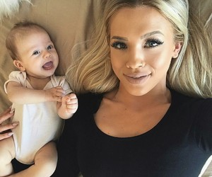 baby, daughter, and tammyhembrow image