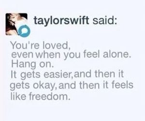 Taylor Swift and quotes image
