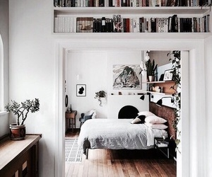 bedroom, book, and room image