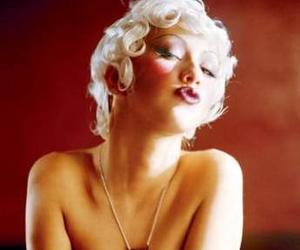 christina aguilera, makeup, and sexy image
