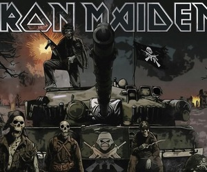 bands, group, and iron maiden image
