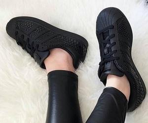 adidas, black, and noir image
