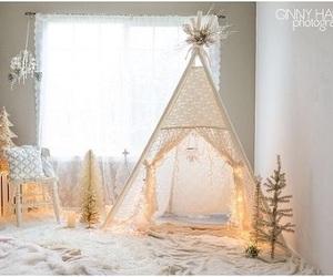child, cottage, and decor image