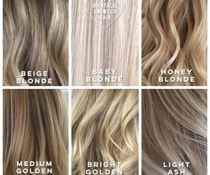 blonde, cool, and girly image