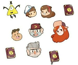 gravity falls, chibi, and disney image