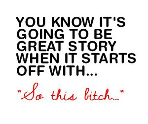 bitch, quote, and story image