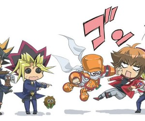 yugi oh, yugi, and yusei image