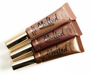 makeup, melted, and too faced image