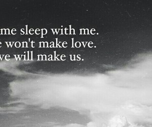 love, quote, and sleep image