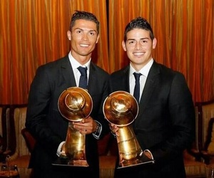 awards, cristiano ronaldo, and james image