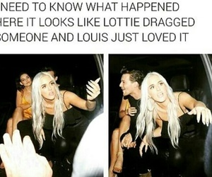 funny, 1d, and louis tomlinson image