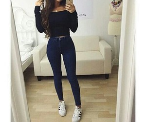 casual, perfect, and fashion image