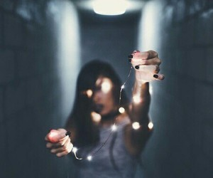 diy, girl, and lights image