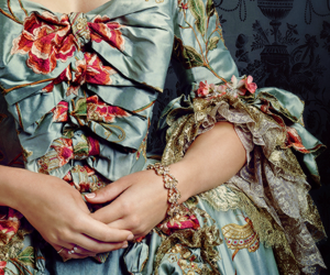 gown and rococo image