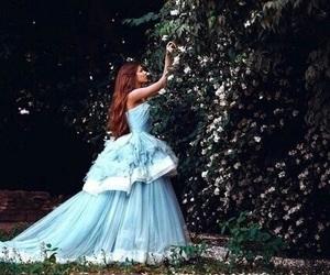 dress, princess, and blue image