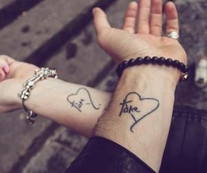 tattoo, take heart, and nate buzolic image