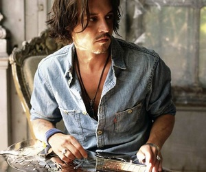 beautiful and johnny depp image