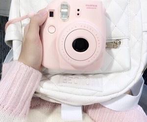 pink, camera, and kawaii image