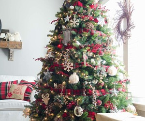 christmas, holiday, and christmas tree image