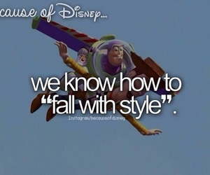 toy story, disney, and because of disney image
