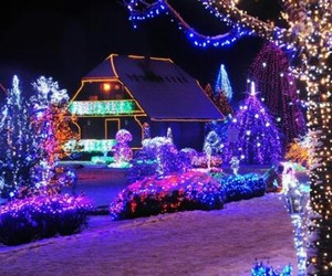 amazing, blue, and christmas image