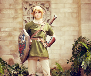 cosplay, game, and link image
