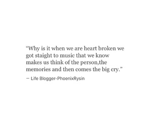 crying, feelings, and memories image