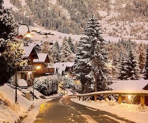 chalet, winter, and xmas image