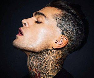 guy, Hot, and nose piercing image