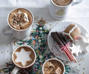 christmas, chocolate, and december image