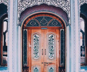 door, architecture, and travel image
