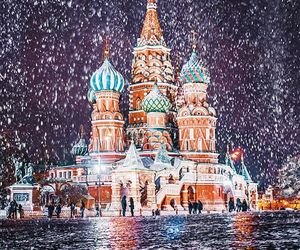 moscow, russia, and winter image