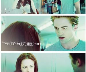biology, edward and bella, and twilight image