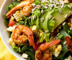 food, photography, and salad image