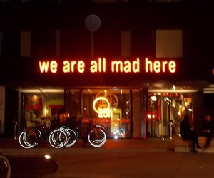 mad, light, and neon image