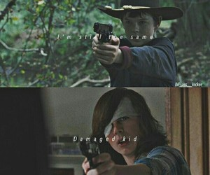 twd and carl image