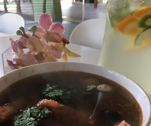 thai soup and spicy tom yum image